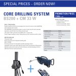 Promotion Core drilling system